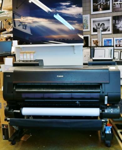 Printing machine is ready ...