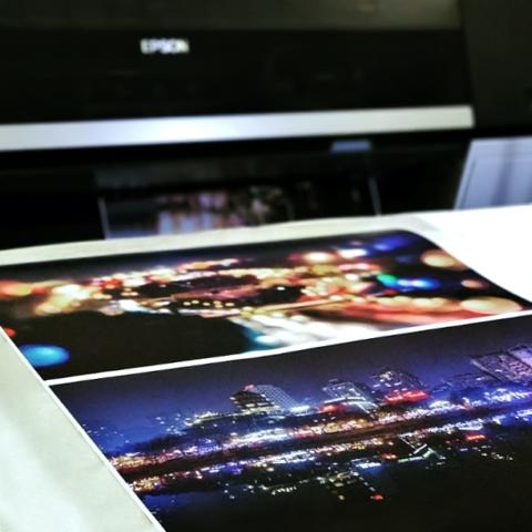Printing fine art paper