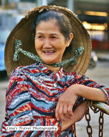 Vietnamese smile - fisherman's simple happinese, Nha Trang, Vietnam