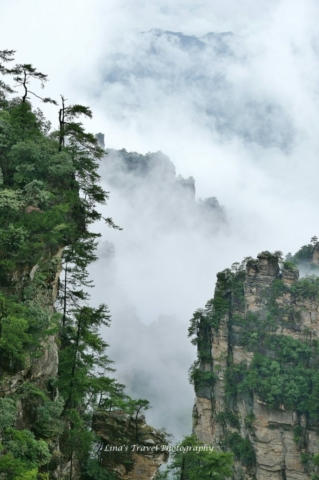 Natural Great Wall, Yuanjiajie, Zhanjiajie National Forest Park, Zhangjiajie, Hunan, China