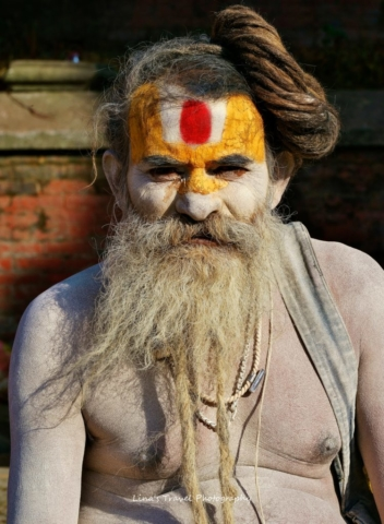 Sadhu Radebaba, 51 years old, living at Pashupatinath Temple, Kathmandu, Nepal